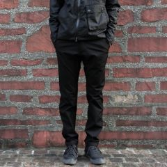 *SWRVE* midweight wwr downtown trousers (black)