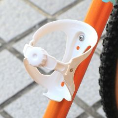 *ARUNDEL* looney bin bottle cage (white)