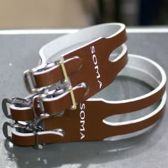 *SOMA* leather double strap (brown)