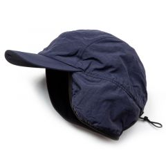 *BL SELECT* ear muff nylon cap (navy)