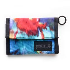 *BLUE LUG* bike wallet (tie dye)