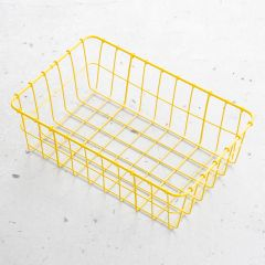 *WALD* 137 basket (yellow)
