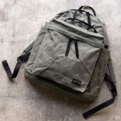 *BLUE LUG* THE DAY PACK (wax olive)