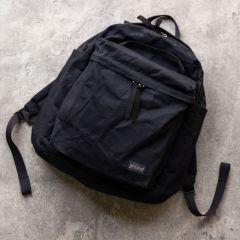 *BLUE LUG* THE DAY PACK (wax black)