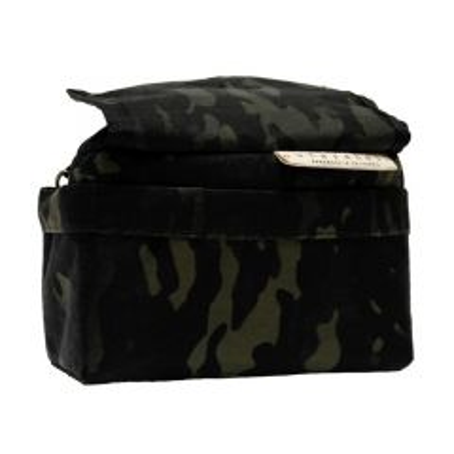 *OUTER SHELL ADVENTURE* drawcord handlebar bag (multicam black)