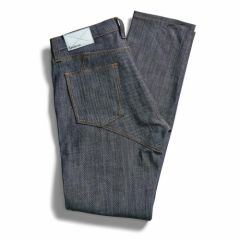 *CADENCE* raw denim pants (indigo)