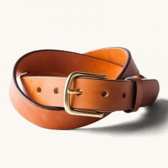 *TANNER* classic belt (saddle tan)