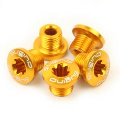 *SUGINO* chainring fixing bolts (gold)