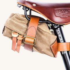 *TANNER* courier saddle bag (field tan)