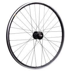 *PHILWOOD* × *HED.* belgium C2 track front wheel (black/silver)