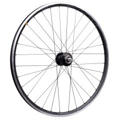 *PHILWOOD* × *HED.* belgium C2 track rear wheel (black/silver)
