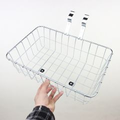 *WALD* multi fit 137 front basket (small/silver)