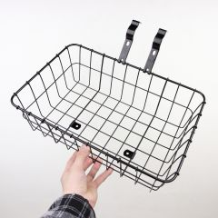 *WALD* multi fit 137 front basket (small/black)