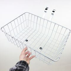 *WALD* multi fit 139 front basket (large/silver)