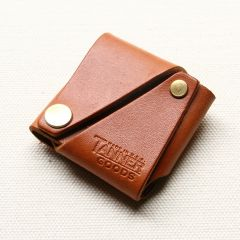 *TANNER* coin pouch (saddle tan)