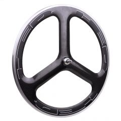 *HED.* H3 carbon front track wheel (black)