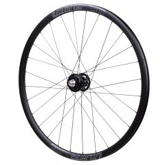 *PHILWOOD* × *VELOCITY* aileron CX front wheel (black)