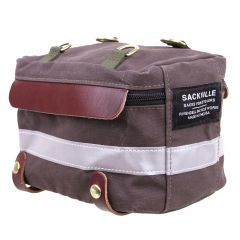 *RIVENDELL* sackville trunk sack (dark brown)