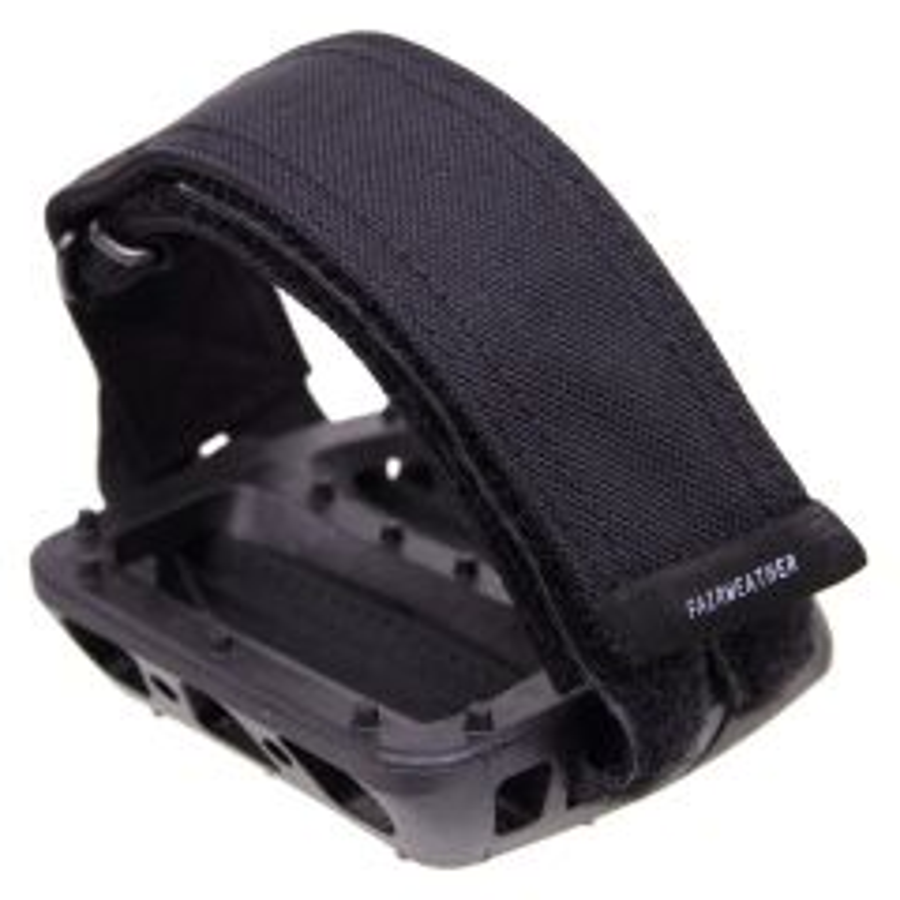 *FAIRWEATHER* pedal strap (black)