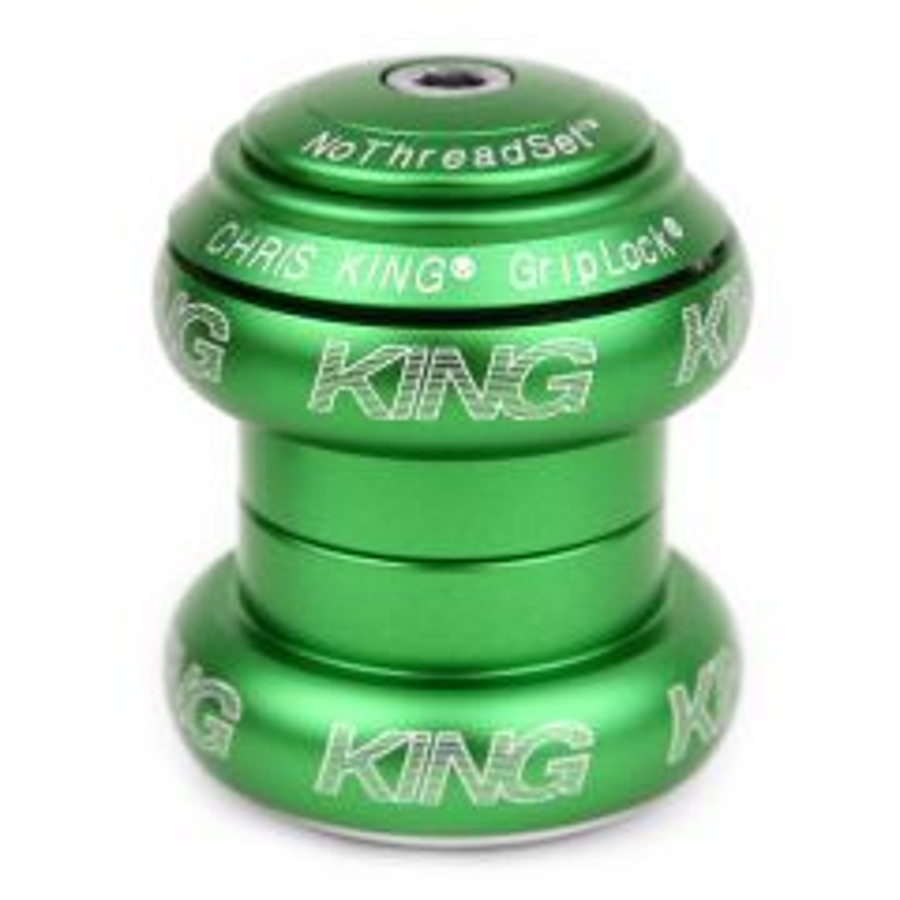 *CHRIS KING* nothreadset 1 1/8 inch (matte emerald)