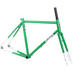 *ALL CITY* nature boy disc frame set (green/white)