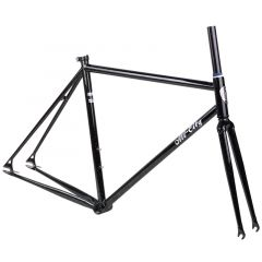 *ALL CITY* big block frame set (black/green-sparkle)
