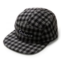 *CADENCE* finn 5 panel hat (buffalo check)