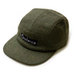 *CADENCE* finn 5 panel hat (olive tweed)