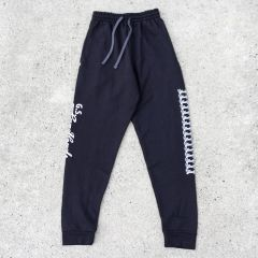 *G.S. LANDLORDS* jogger pant (black)