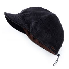 *BLUE LUG* cycle work cap (corduroy black)