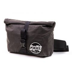 *PAUL* wax canvas roll top fanny pack