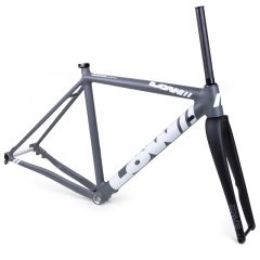 *LOW BICYCLES* MKi cross frame&fork set (grey/white/49)