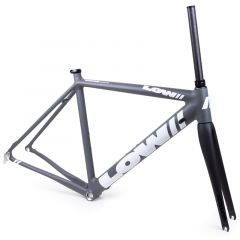 *LOW BICYCLES* MKi road frame&fork set (grey/white/52)