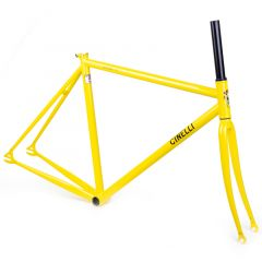 *CINELLI* gazzetta frame set (yellow)