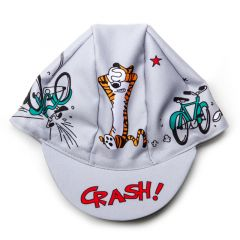 *MASH* crash cycling cap (grey)