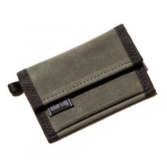 *BLUE LUG* micro wallet (wax olive)