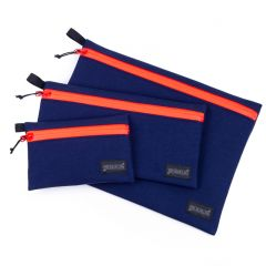 *BLUE LUG* dry pouch (navy/red)