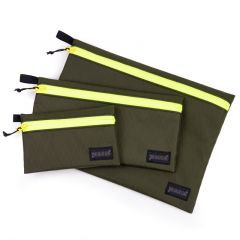 *BLUE LUG* dry pouch (x-pac olive/yellow)