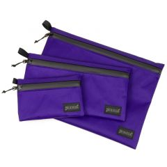 *BLUE LUG* dry pouch (x-pac purple/black)
