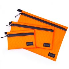 *BLUE LUG* dry pouch (x-pac orange/black)