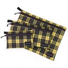 *BLUE LUG* dry pouch (yellow check)