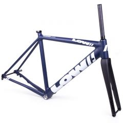 *LOW BICYCLES* MKii disc road frame&fork set (navy/white/52)