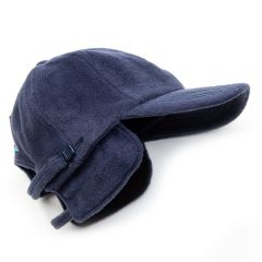 *BL SELECT* ear muff fleece cap (navy)