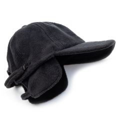 *BL SELECT* ear muff fleece cap (black)