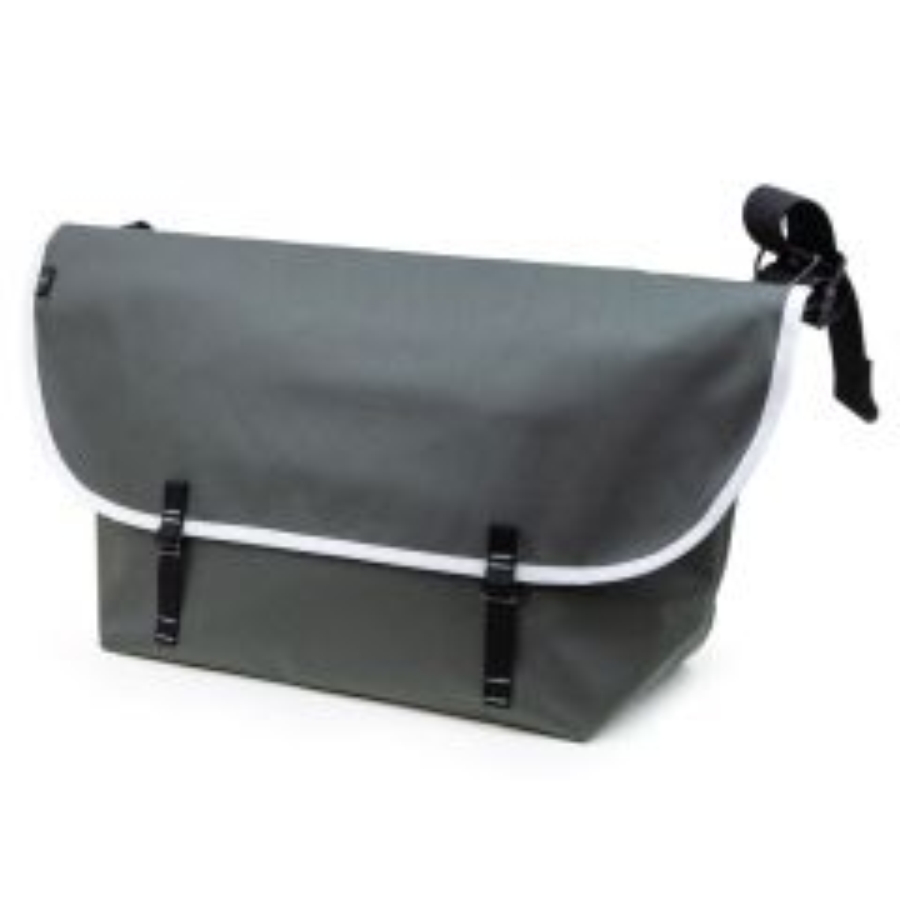 *BLUE LUG* the messenger bag (gray/white)