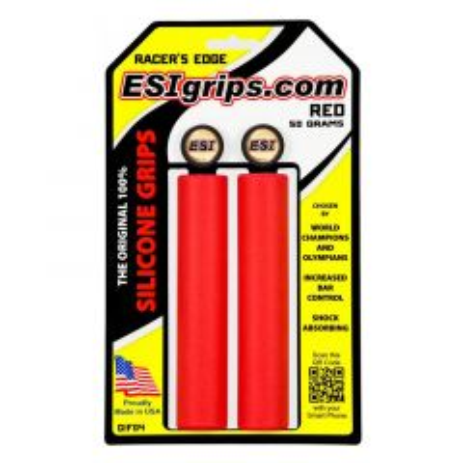 *ESI* racers edge grip (red)