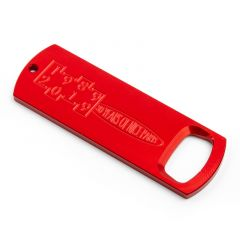 *PAUL* bottle opener 30th anniv. (red)