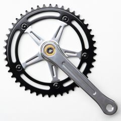 *BLUELUG* RMC crank set (silver/black)