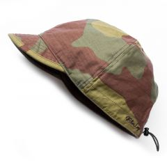 *BLUE LUG* cycle work cap (camo)