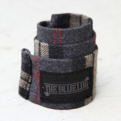 *BLUE LUG* snap rolly (charcoal check)